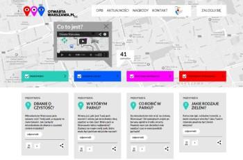 Otwarta Warszawa crowdsourcing