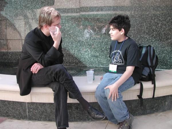 Dwóch wybitnych: Lawrence Lessig i młodziutki Swartz