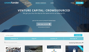 crowdfunder WE the CROWD