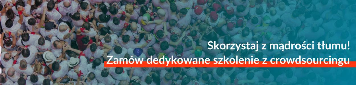 Zamów dedykowane szkolenie z crowdsourcingu!